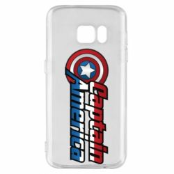 Чохол для Samsung S7 Marvel Captain America