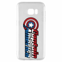 Чохол для Samsung S7 EDGE Marvel Captain America