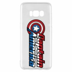 Чохол для Samsung S8 Marvel Captain America