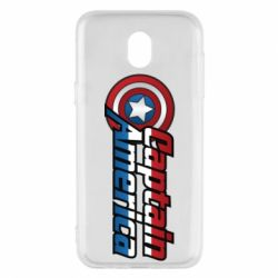 Чохол для Samsung J5 2017 Marvel Captain America