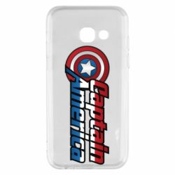 Чохол для Samsung A3 2017 Marvel Captain America