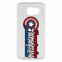 Чохол для Samsung S6 Marvel Captain America