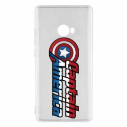Чехол для Xiaomi Mi Note 2 Marvel Captain America