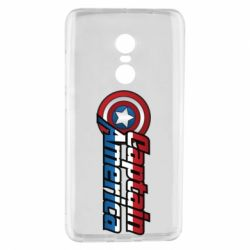Чохол для Xiaomi Redmi Note 4 Marvel Captain America