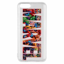Чехол для Xiaomi Mi6 Marvel comics and heroes