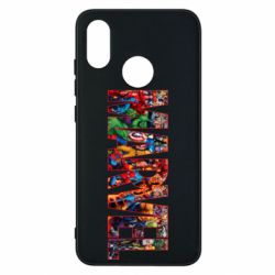Чехол для Xiaomi Mi8 Marvel comics and heroes