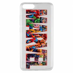 Чехол для Xiaomi Mi Note 3 Marvel comics and heroes