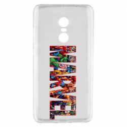 Чехол для Xiaomi Redmi Note 4 Marvel comics and heroes