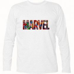 Футболка с длинным рукавом Marvel comics and heroes