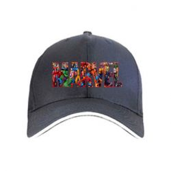 Кепка Marvel comics and heroes