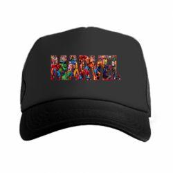 Кепка-тракер Marvel comics and heroes