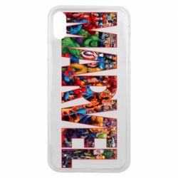 Чехол для iPhone Xs Max Marvel comics and heroes