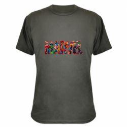 Камуфляжная футболка Marvel comics and heroes