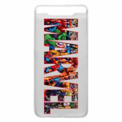 Чехол для Samsung A80 Marvel comics and heroes