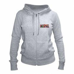 Женская толстовка на молнии Marvel comics and heroes
