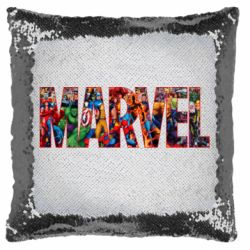 Подушка-хамелеон Marvel comics and heroes