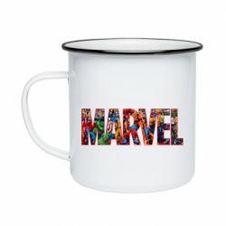 Кружка эмалированная Marvel comics and heroes