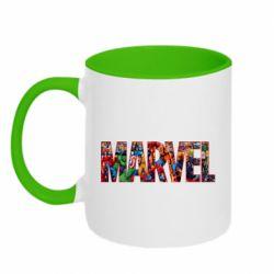Кружка двухцветная 320ml Marvel comics and heroes