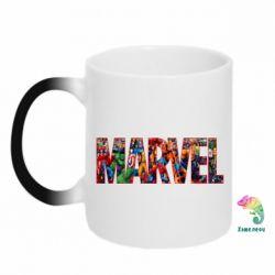 Кружка-хамелеон Marvel comics and heroes
