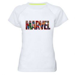 Женская спортивная футболка Marvel comics and heroes