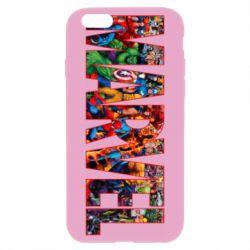 Чехол для iPhone 6 Plus/6S Plus Marvel comics and heroes