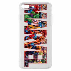 Чехол для iPhone 7 Plus Marvel comics and heroes