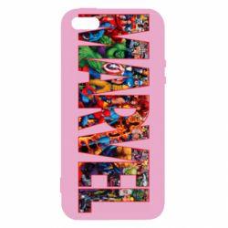 Чехол для iPhone5/5S/SE Marvel comics and heroes
