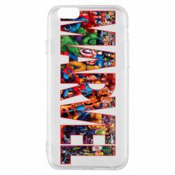 Чехол для iPhone 6/6S Marvel comics and heroes