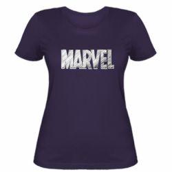 Жіноча футболка Marvel drawing