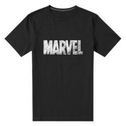 Чоловіча стрейчева футболка Marvel drawing