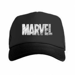 Кепка-тракер Marvel drawing