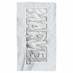 Рушник Marvel drawing