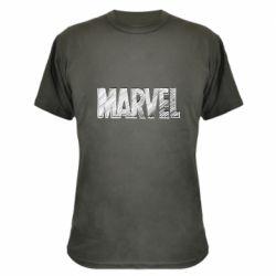 Камуфляжна футболка Marvel drawing
