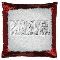 Подушка-хамелеон Marvel drawing