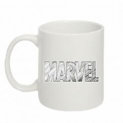 Кружка 320ml Marvel drawing