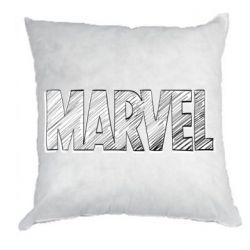 Подушка Marvel drawing