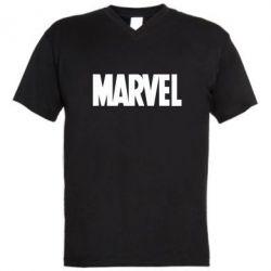 Чоловіча футболка з V-подібним вирізом Marvel Minimal