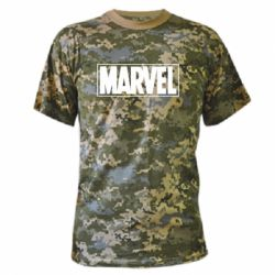 Камуфляжна футболка Marvel Minimal