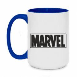 Кружка двоколірна 420ml Marvel Minimal