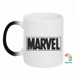 Кружка-хамелеон Marvel Minimal