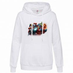 Толстовка жіноча Marvel team