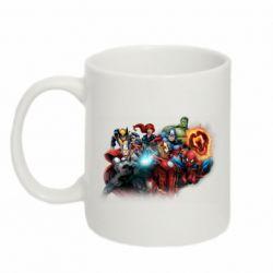 Кружка 320ml Marvel team