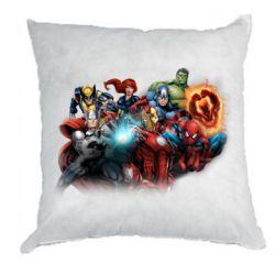 Подушка Marvel team