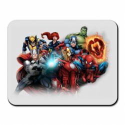Килимок для миші Marvel team
