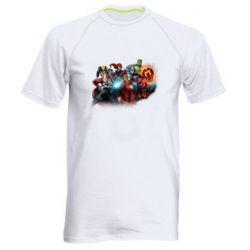 Чоловіча спортивна футболка Marvel team