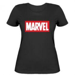Женская футболка MARVEL - FatLine