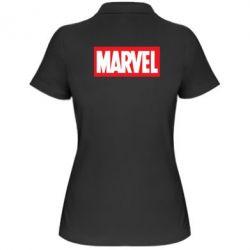 Женская футболка поло MARVEL - FatLine