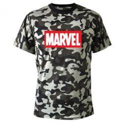 Камуфляжная футболка MARVEL - FatLine