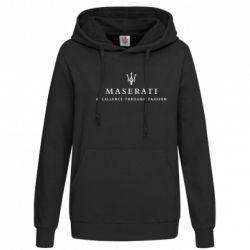 Женская толстовка Maserati - FatLine