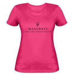 Женская Maserati - FatLine